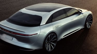 Lucid air rear