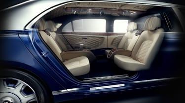 Bentley Mulsanne Grand Limousine by Mulliner cabin