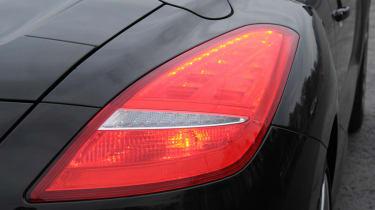 Peugeot RCZ rear light detail