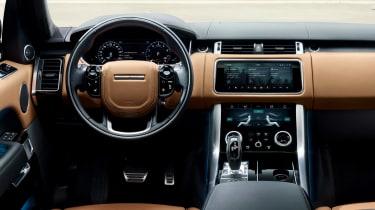 Range Rover 2018 interior