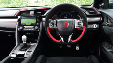 Honda Civic Type R Sport Line - dash