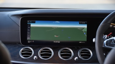 Mercedes-AMG E 63 S infotainment