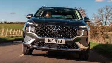 Hyundai Santa Fe Hybrid - full front