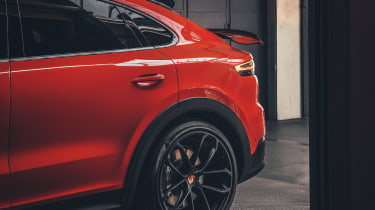 Porsche Cayenne Coupe - rear 3/4 static with wing