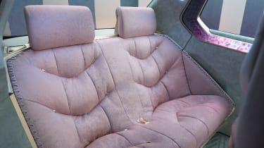 BMW i Vision Circular concept - rear seats