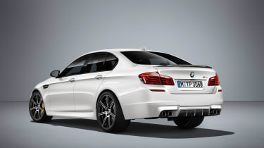 BMW M5 Competition Edition 2016 rear