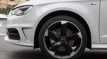 Audi A3 Sportback TFSI front detail
