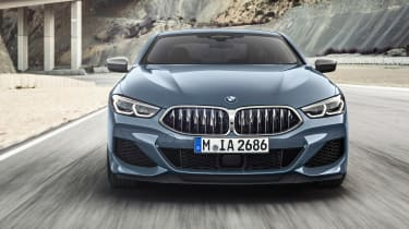 BMW 8 Series - full front