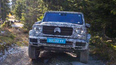 Mercedes G-Class prototype - full front off-road