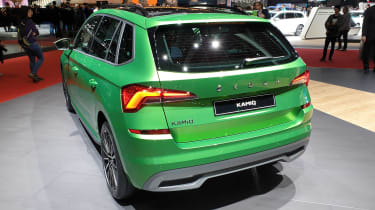 Skoda Kamiq - Geneva green rear