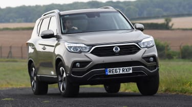 SsangYong Rexton long term front