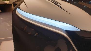 Lagonda All-Terrain concept headlight