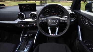 Audi Q2 35 TFSI long-termer - dash