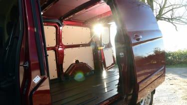 Ford Transit Custom - loading bay