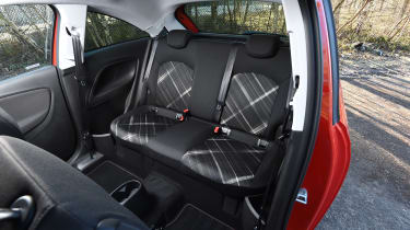 Vauxhall Corsa Red Edition - rear seats