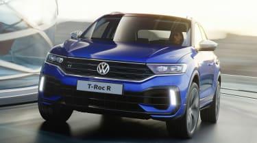 Volkswagen T-Roc R - front action