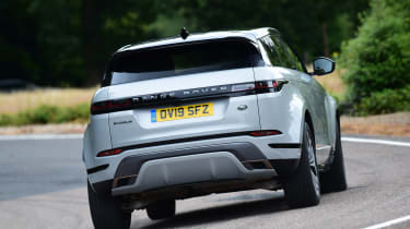 Range Rover Evoque - rear cornering