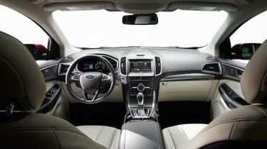 Ford Edge SUV interior 1