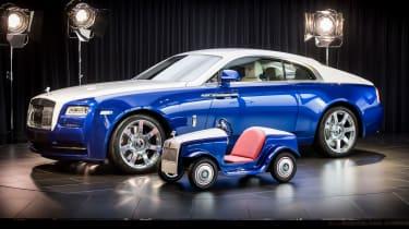 Rolls-Royce SRH - against Ghost