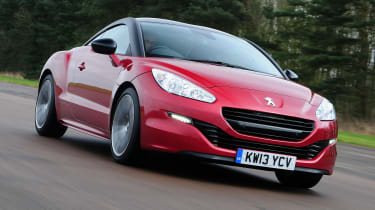 Best cars for under £15,000 - Peugeot RCZ