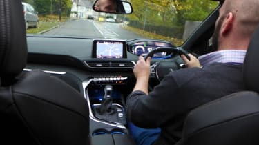 3008 minutes in a Peugeot 3008 - Darren driving