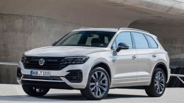 VW Touareg One Million - front