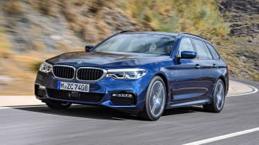 New BMW 5 Series Touring - front