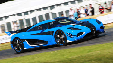 Koenigsegg One:1 - Goodwood run 2019