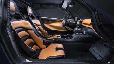 Hennessey Venom F5 interior details
