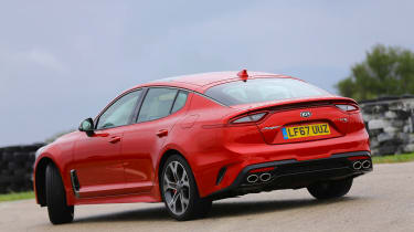 Kia Stinger - rear/side