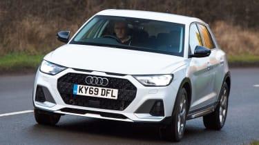 Audi A1 Citycarver - front action