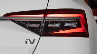 Skoda Superb iV - rear light