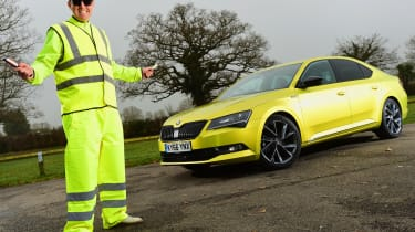 Skoda Superb Sportline - first report header