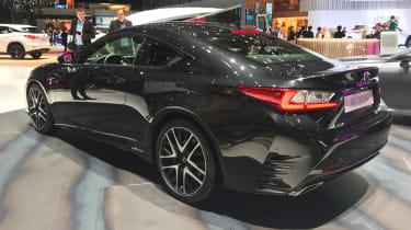Lexus RC 300h F Sport Black Edition - rear