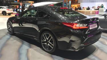 Lexus RC 300h F Sport Black Edition - rear