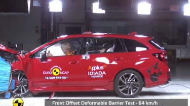 Euro NCAP Subaru Levorg