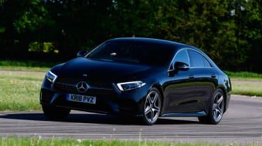 Mercedes CLS 450 - front cornering