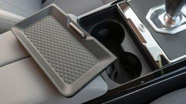Range Rover Evoque cupholders