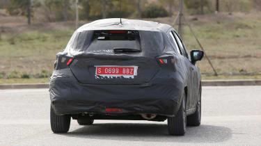Nissan Micra 2016 rear