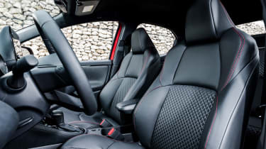 2020 Toyota Yaris - front seats