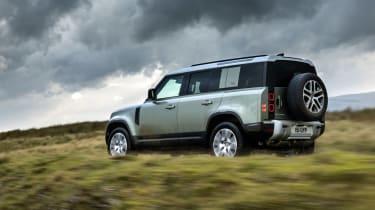 Land Rover Defender P400e PHEV - rear action