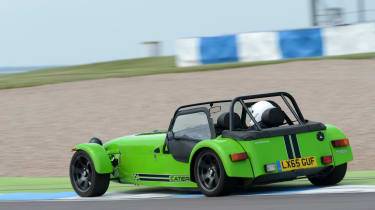 Long-term test review: Caterham 270S - fourth report rear tracking