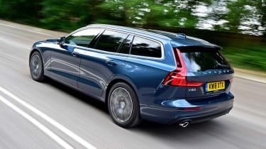 Volvo V60 - rear tracking