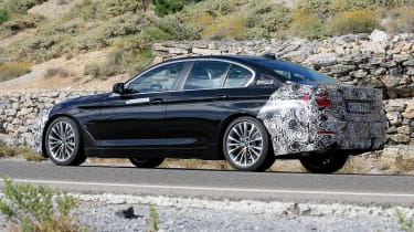 BMW 5 Series facelift - spyshot 5