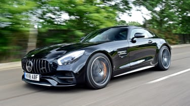 Mercedes-AMG GT C - front
