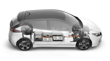New Nissan Leaf - see through
