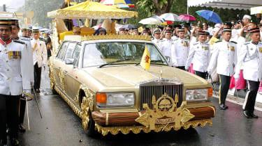 Golden Rolls-Royce