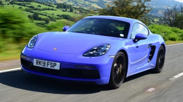 Porsche Cayman - Tracking