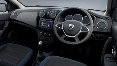 Dacia Duster Stepway SE Twenty - dash