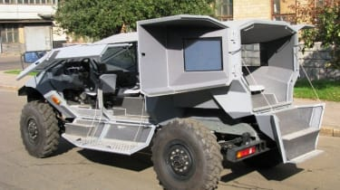 ZIL Russian Humvee army concept rear